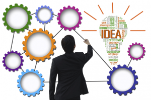Businessman-create-idea-system-for-business-concept