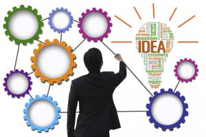 Businessman-create-idea-system-for-business-concept